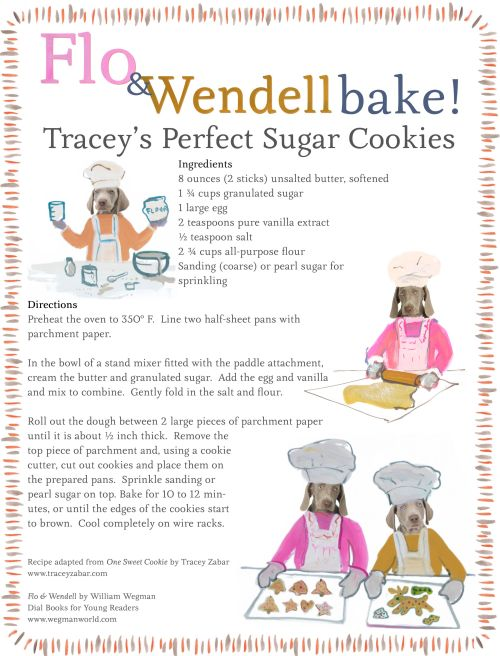 Flo and Wendell Bake with Tracey